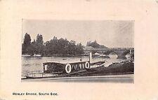 POSTCARD   OXFORDSHIRE  HENLEY  Bridge  South  Side
