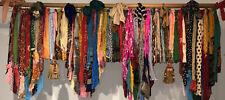 "Shabby Handmade Gypsy Boho Hippie Rag Valance Curtain Window,Wall,Door, 60""X17"""