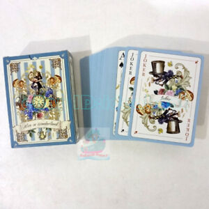 Deck 54 cards of cartoon The Alice's Adventures in Wonderland Playing card/Poker