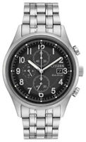 Citizen Eco-Drive Men's CA0620-59H Chandler Chronograph Silver-Tone 42mm Watch