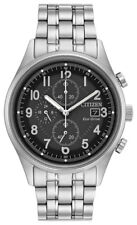 Citizen Eco-Drive Men's CA0620-59H Chandler Chronograph Silver-Tone 42mm Watch