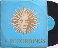 "DJ Krust SET SPEED DJ SS 1995 45rpm 12"" V Recordings V009R jungle DRUM N BASS"