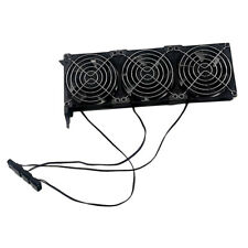 GPU Cooler, VGA PCI Express Graphics Card Cooling Fan, Triple Quiet 90mm Fans-
