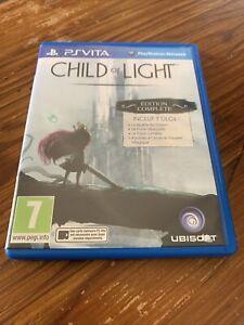 Child Of Light Complete Edition Jeu Game Sony PlayStation Vita PSVITA