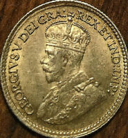 1918 CANADA SILVER 5 CENTS COIN - Fantastic example! Really nice!