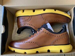 Cole Haan Men's 4.0 Zero-Grand Wingtip Oxford Shoes Size 10.5 NWB