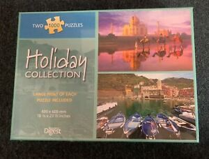 *New Sealed* Readers Digest Scenic Collection Taj Mahal 2-In-1 1000 pcs Puzzles