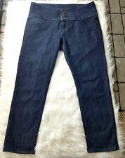 3a8d3f3bfd1 womens plus sz 18 high waist skinny jeans dark wash ashley stewart 3%  spandex