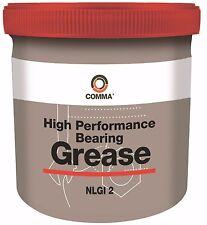 Comma High Performance Bearing Grease NLGI No.2 500g BG2500G