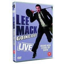 LEE MACK: GOING OUT LIVE NEW REGION 2 DVD
