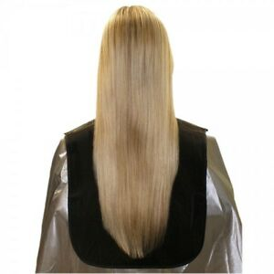 PRO HAIR TOOLS BLACK CUTTING COLLAR EXTRA LONG NYLON HAIRDRESSERS PERSONAL USE