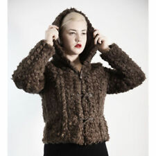 Hood Faux Fur Coats & Jackets for Women