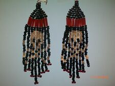 Skull beaded earrings