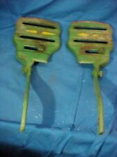 New listing Early 20thc Planet Jr No 4 Seeder Cultivator Pair Chassis Frame Parts 3787 3788