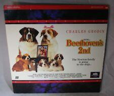 Laserdisc {U} * Beethoven's 2nd * Charles Grodin Bonnie Hunt Nicholle Tom LTRBX