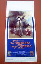 IL SIGNORE DEGLI ANELLI locandina poster The Lord of the Rings Animazione X51