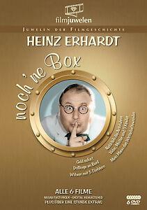 Heinz Erhardt - noch 'ne Box (Witwer mit 5 Töchtern / Drillinge an Bord) [6 DVD]
