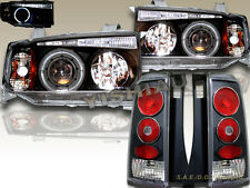 04 05 06 Scion XB Projector Headlights Black LED Halo + JDM Tail Lights