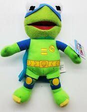 "Disner Junior Muppet Babies Super Fabulous Kermit Plush 6"" Froginizer Kermit NEW"
