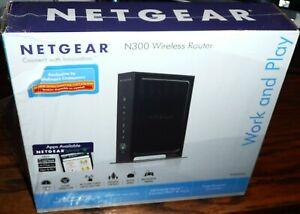NEW Netgear N300 300 Mbps 4-Port 10/100 Wireless N Router (WNR2000) - SEALED