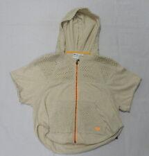 Roxy Girls Poncho Zip Front Sweater Hood Sol Searcher Stone