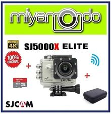 SJCAM SJ5000X Elite 4K WiFi Action Cam + Sandisk Ultra microSD 32GB + Bag (SL)