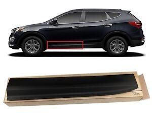Front Door Lower Molding 2013-2016 Santa Fe Left Driver Side Garnish OEM Hyundai