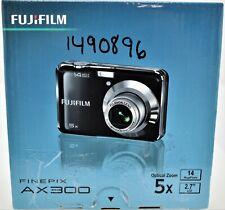 Fujifilm FinePix AX-300 14 MP HD Digital Camera - Black