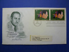 LOT 12550 TIMBRES STAMP MUSIQUE USA GERSHWIN ANNEE 1973
