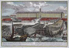 Original vor 1800 Ansichten & Landkarten aus Niederlande