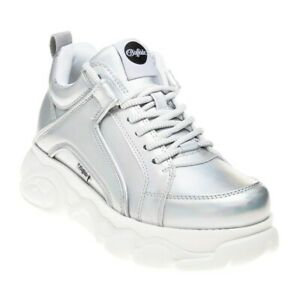 BUFFALO Womens Corin Platforms Shoes Metallic