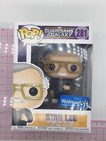 Funko Pop! Guardians Of The Galaxy Stan Lee #281 Walmart Exclusive BOX WEAR F02