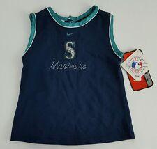 NEW Seattle Mariners MLB Nike Girls Sleeveless Shirt Size 6-9 Months