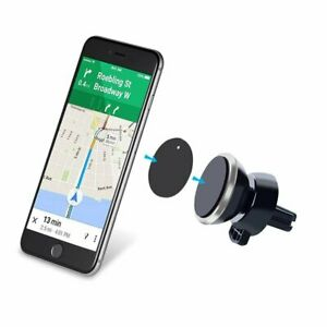 Universal Magnetic In Car Mobile Phone Holder Air Vent Mount +Magnetic plate
