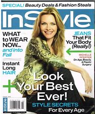 InSTYLE, 2006 August MICHELLE PFEIFFER Featured, Loaded:with Style & beauty tips