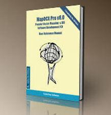 MapPro OCX v8 SDK - MapPro80 - 3 DVD & Manuals - Mapping Software Developer kit