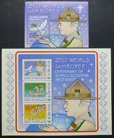 Guyana 2007 Pfadfinder Scouts Baden-Powell 7948-50 Block 819 Postfrisch MNH