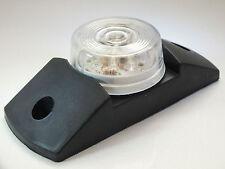 Clear Super-Bright LED Sealed Side-Marker Light (Multi-Voltage 10-30v) Truck