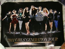 GIRLS' GENERATION 2011 Tour Korea Promo Poster (SNSD)