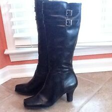ARTURO CHIANG Tall Boots 11 M Black, Fashion Knee-High Boots