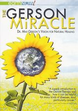 The Gerson Miracle DVD - Dr Max Gerson, Natural Healing, Cancer, Diet, Health