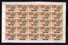 BR.VIRGIN 1970 SHIPS BOATS 1/2c 1c 2c SHEETS 100 stamps