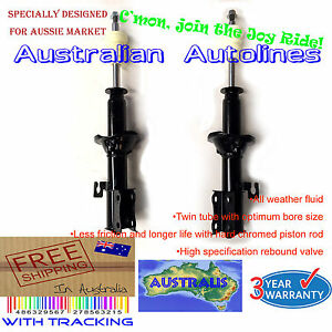 1 Pair Strut Ford Festiva WB WD WF non ABS Hatch New Front Shock Absorbers 94-01