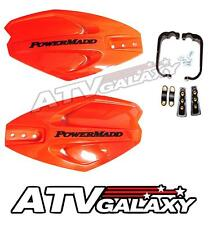 PowerMadd Power X Handguards Orange Hand Guards Ski Doo Snocross Snowmobile