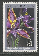 Australia #1000 (A370) Mnh - 1986 $1 Thelymitra Variegata Orchid