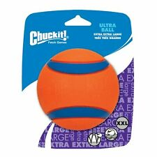 Chuckit Ultra Ball XXL Tough Durable High Bounce Rubber Large Dog Fetch Toy