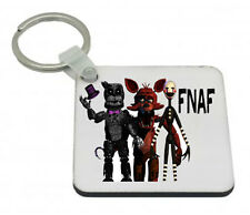 FIVE NIGHTS AT FREDDY'S KEYRING SQUARE HIGH GLOSS GREAT GIFT FNAF 3
