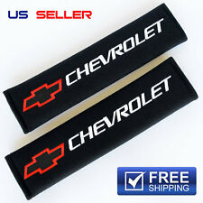 CHEVY SHOULDER PADS SEAT BELT 2PCS CAMARO IMPALA MALIBU SS Z28 CHEVROLET SP06