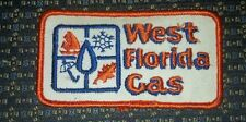 WEST FLORIDA GAS Iron or Sew-On Patch