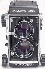 Mamiya c220 + 80mm 2.8 - Blue Dot-NUOVO Seals -